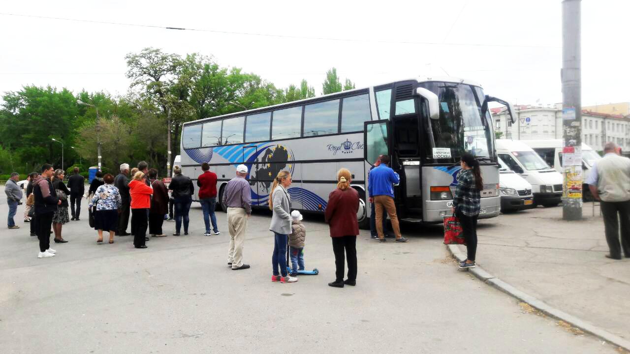 Микроавтобус Москва - Запорожье